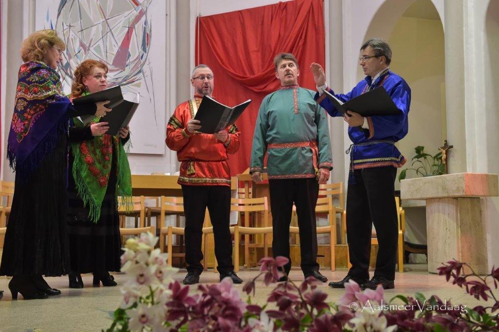 Huiveren en genieten van Russisch ensemble