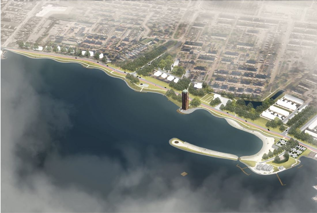 Waterfront stapje dichterbij