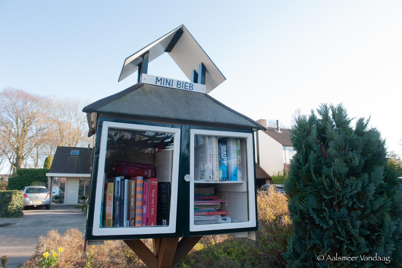 Bieb dicht, buurtboekenkast open