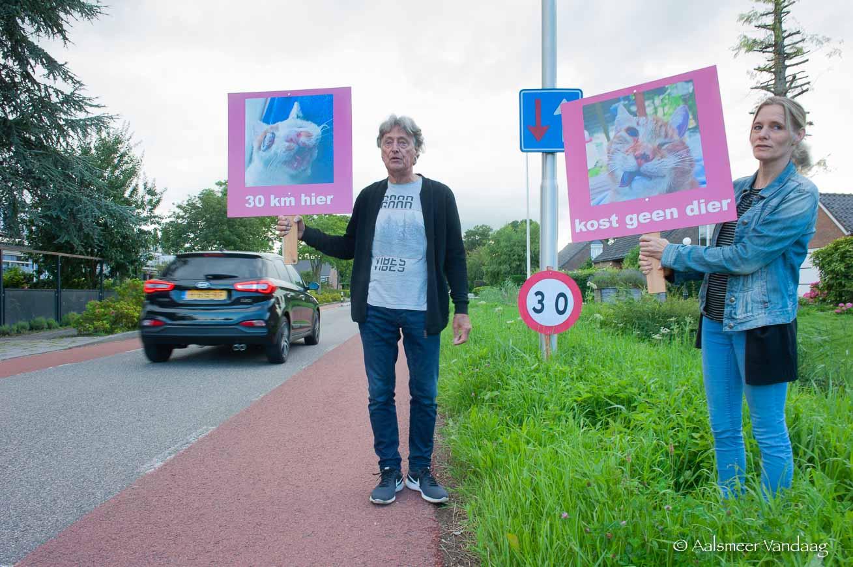 Limiet bereikt: verkeer op Bilderdammerweg moet langzamer