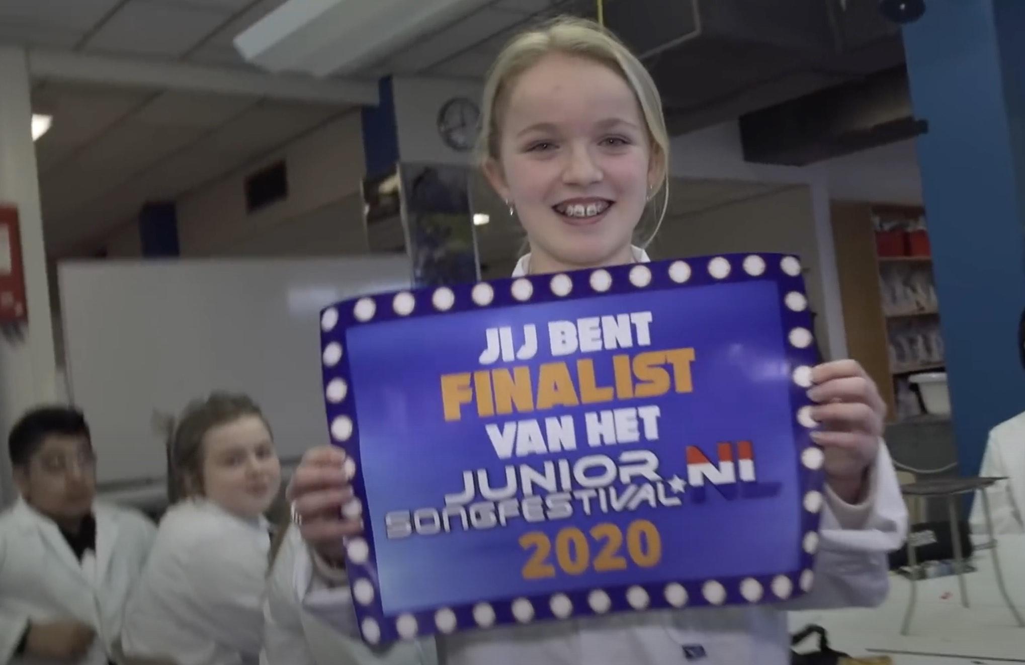 Maud Noordam naar finale Junior Songfestival
