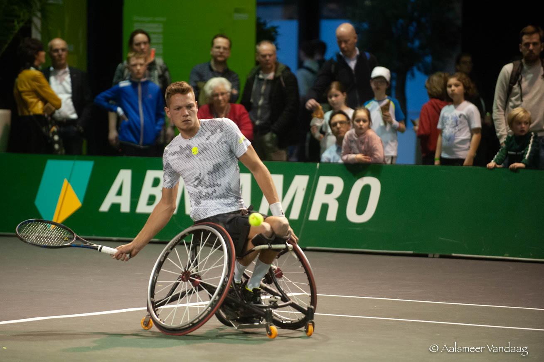 Aalsmeerse tennissers actief op ABN AMRO