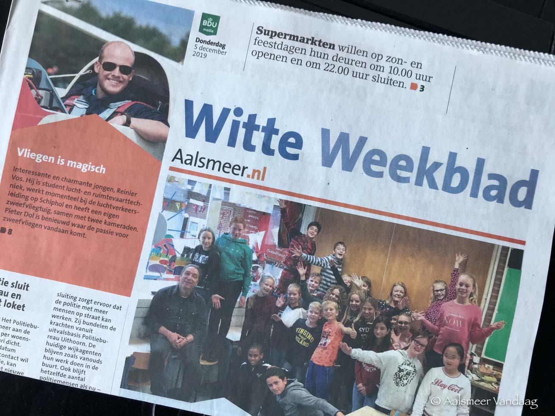 BDU trekt stekker uit Witte Weekblad